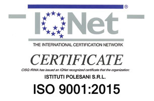 Certificazione IQNet ISO 9001