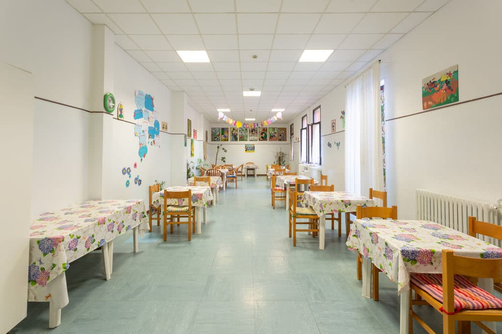 Sala pranzo Istituti Polesani