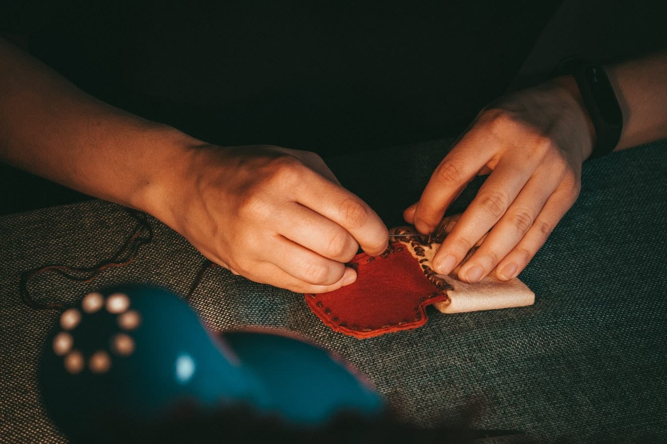 Lavori di artigianato e ricamo